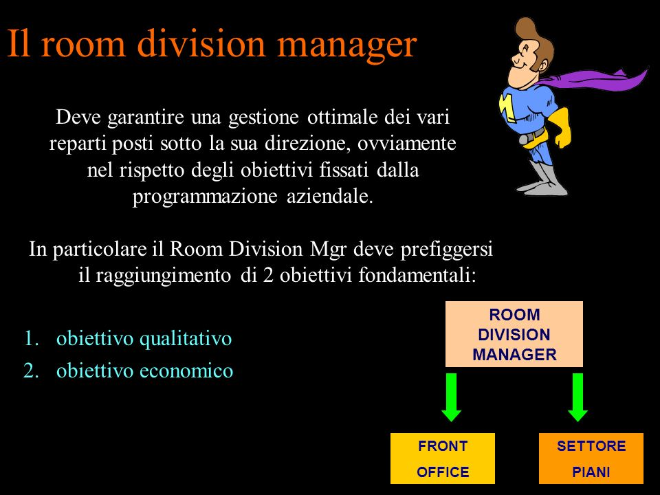 Il room division manager