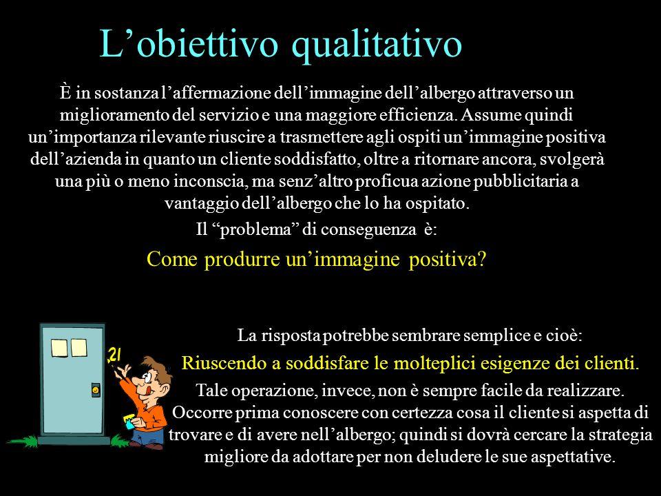 L'obiettivo qualitativo