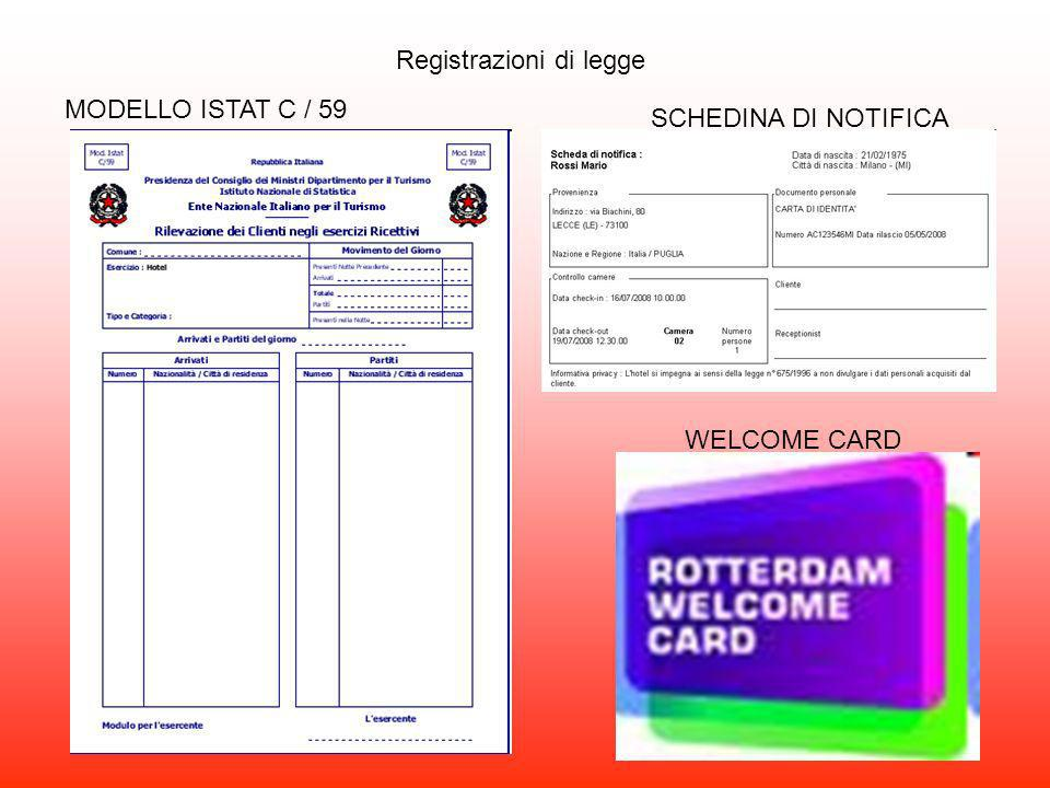 Registrazioni di legge