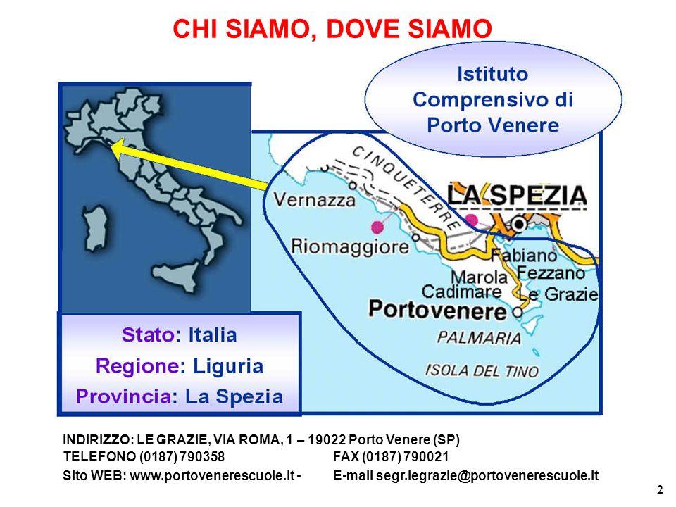 CHI SIAMO, DOVE SIAMO INDIRIZZO: LE GRAZIE, VIA ROMA, 1 – 19022 Porto Venere (SP) TELEFONO (0187) 790358 FAX (0187) 790021.