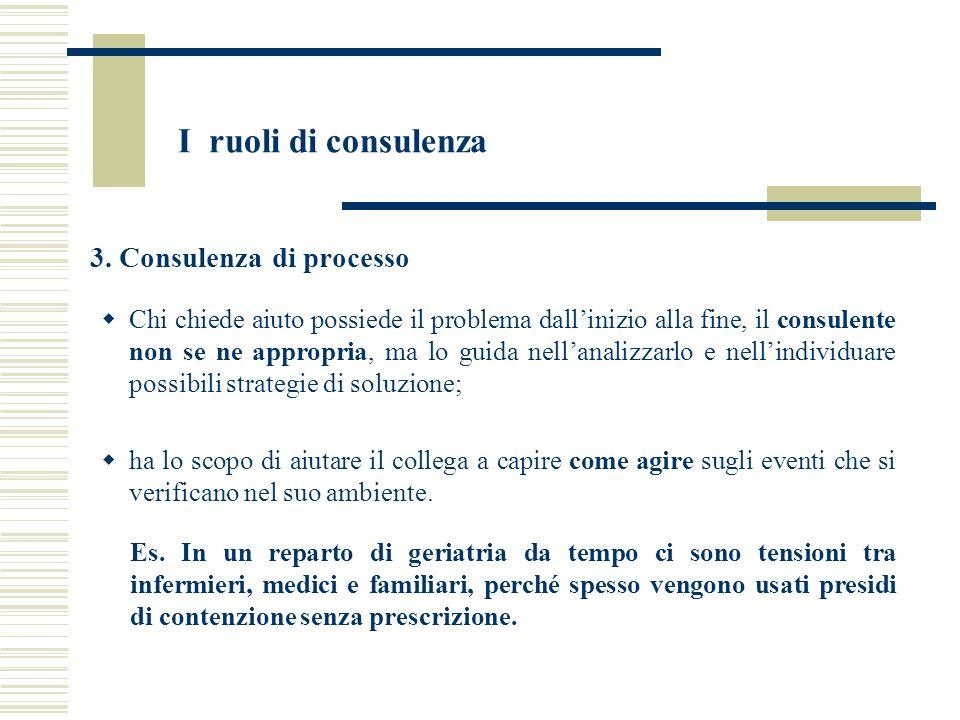 3. Consulenza di processo
