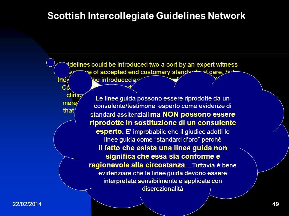 Scottish Intercollegiate Guidelines Network