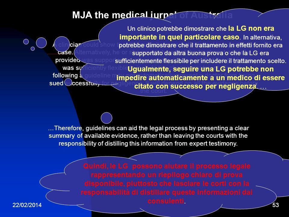 MJA the medical jurnal of Australia
