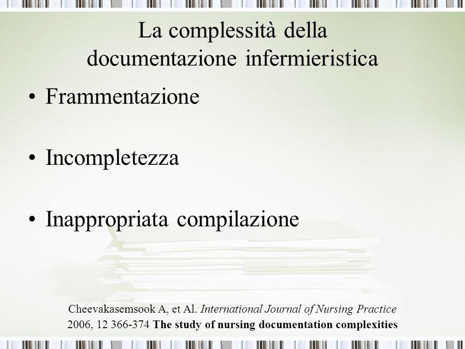 La complessità della documentazione infermieristica