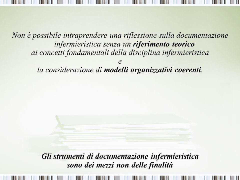 ai concetti fondamentali della disciplina infermieristica e