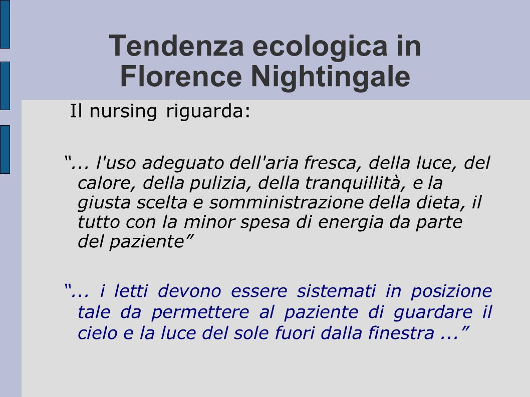 Tendenza ecologica in Florence Nightingale