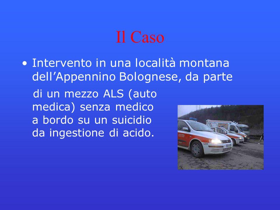 Il Caso Intervento in una località montana dell'Appennino Bolognese, da parte.