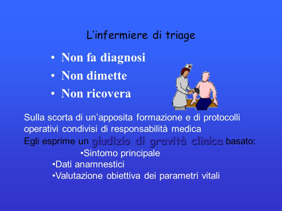 L'infermiere di triage