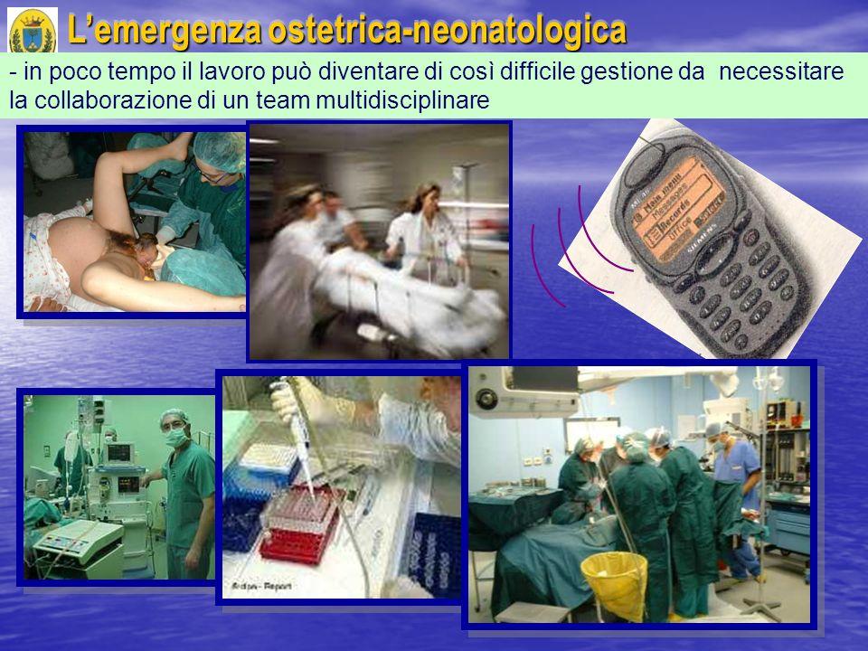 L'emergenza ostetrica-neonatologica