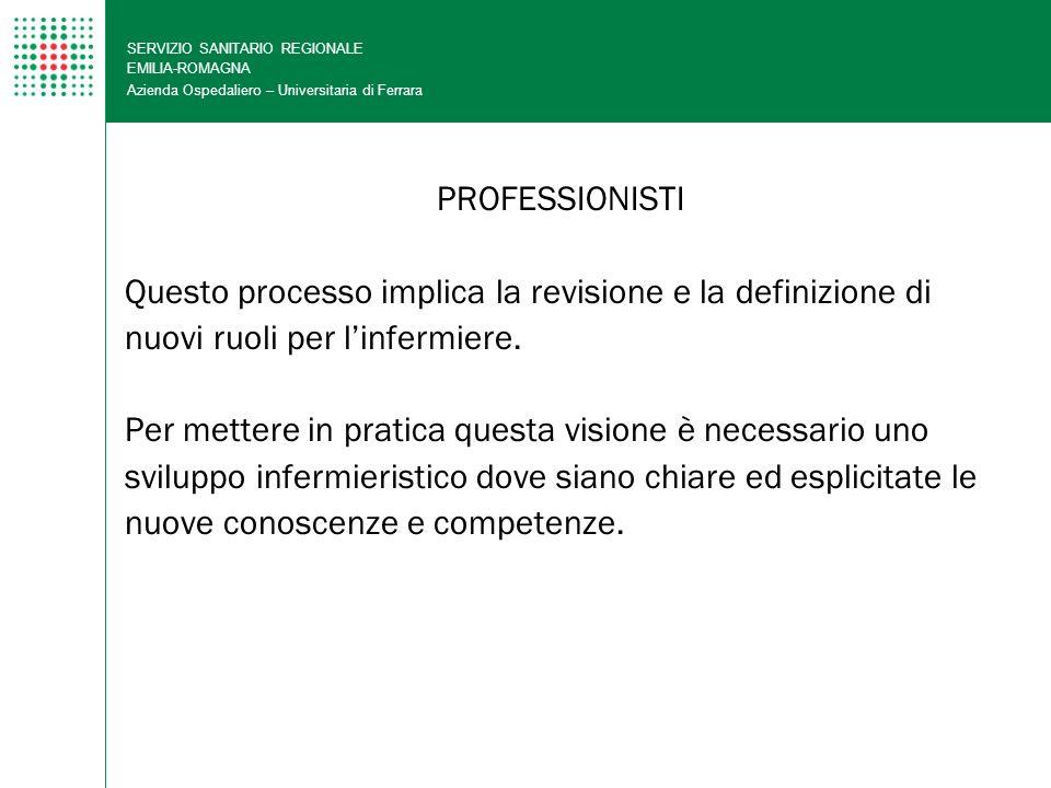 Questo processo implica la revisione e la definizione di