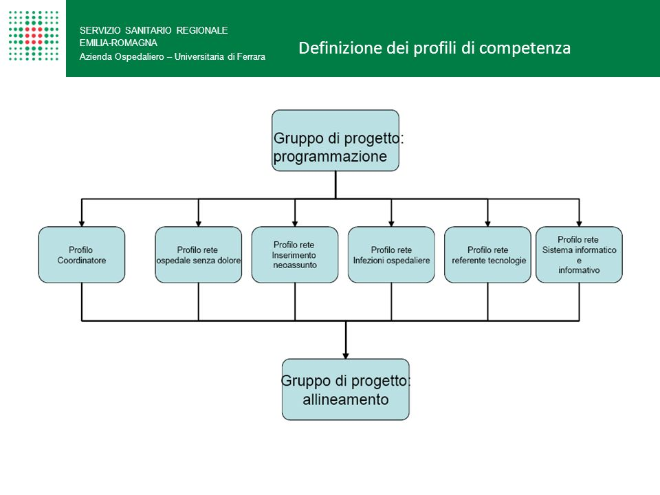 Definizione dei profili di competenza