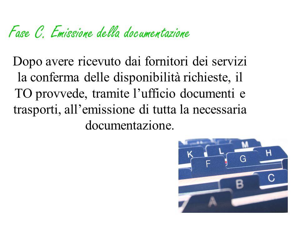 Fase C. Emissione della documentazione