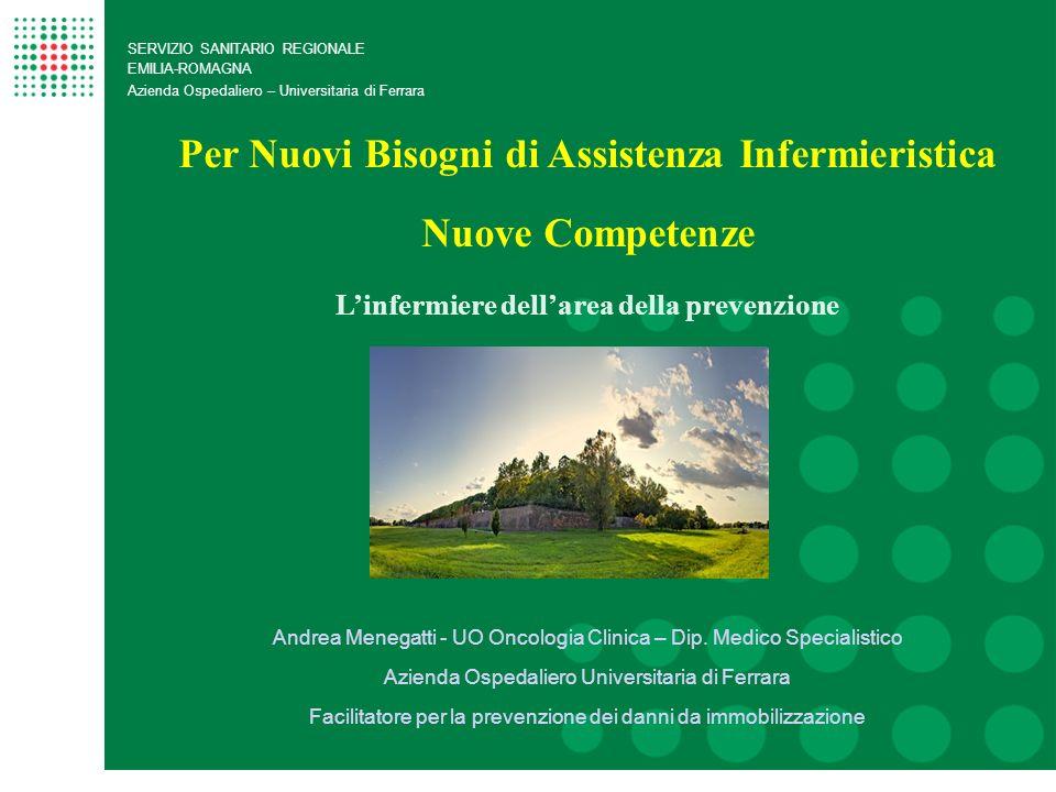 Per Nuovi Bisogni di Assistenza Infermieristica Nuove Competenze