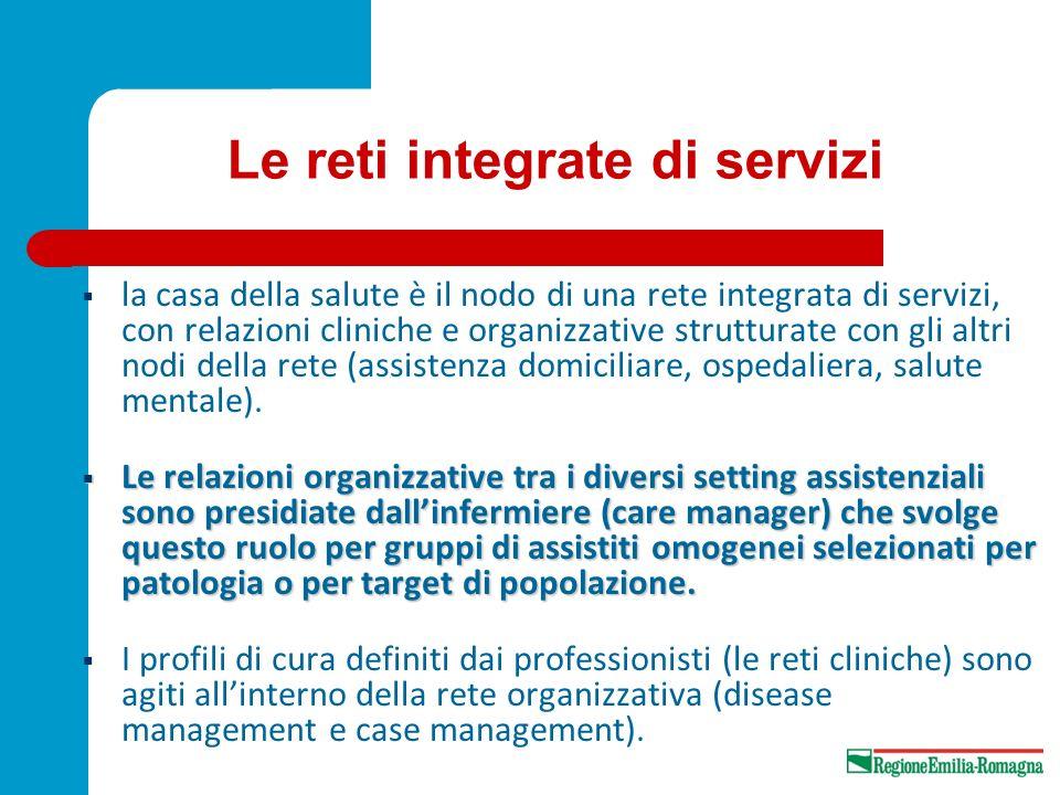Le reti integrate di servizi