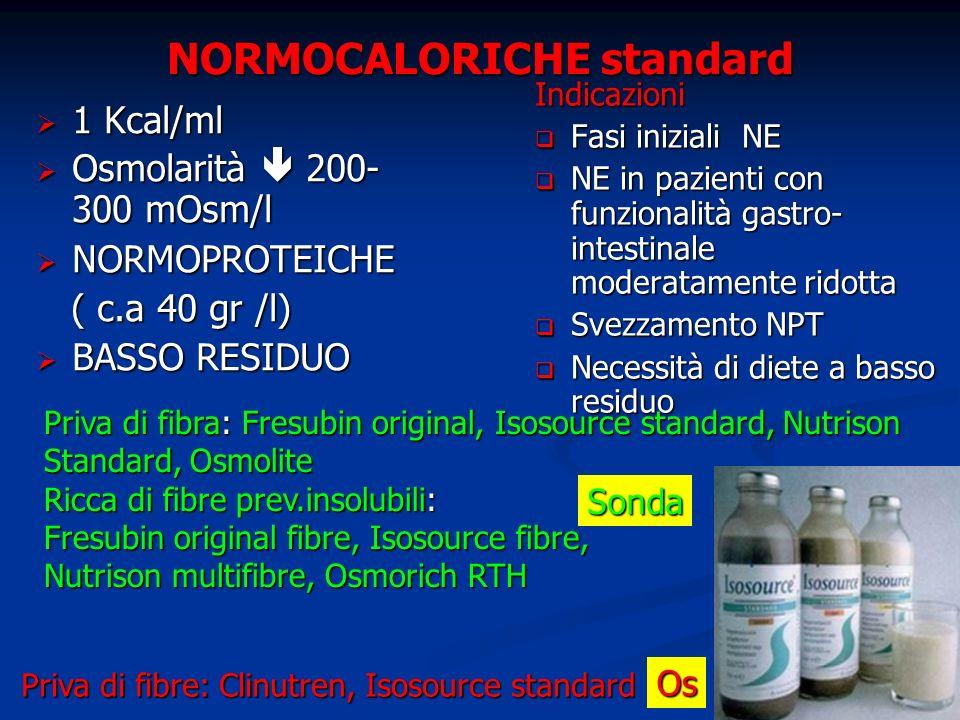 NORMOCALORICHE standard
