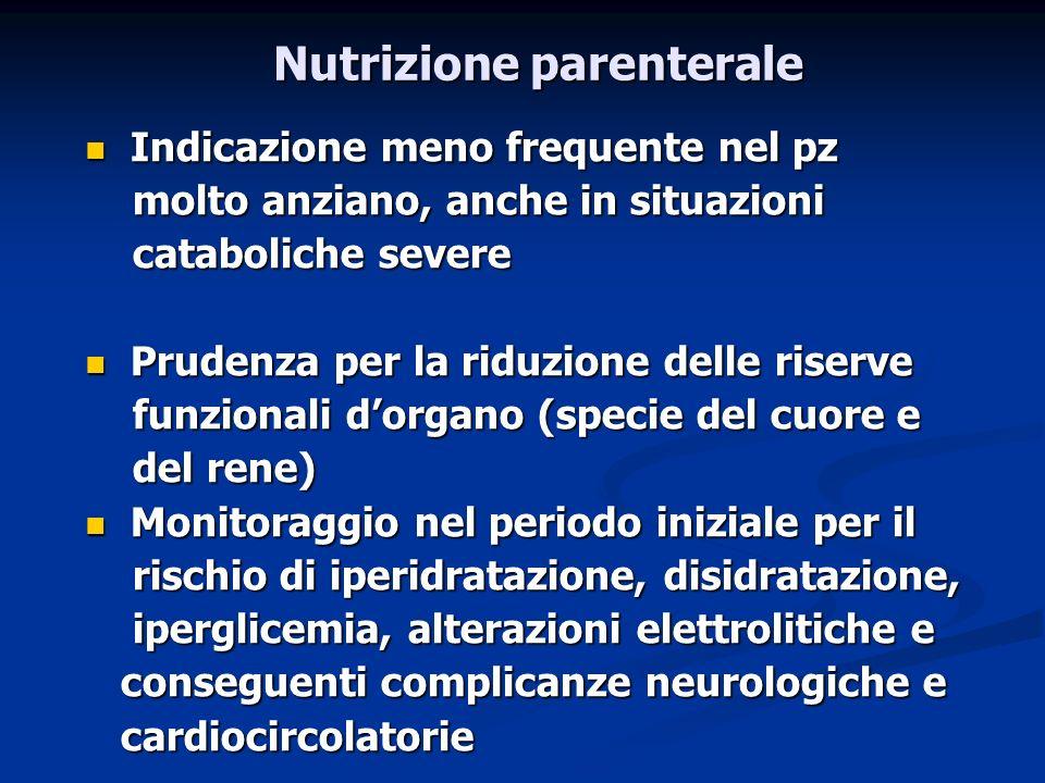 Nutrizione parenterale