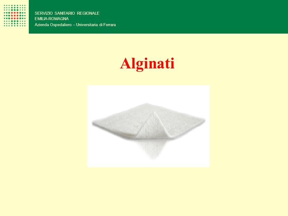 Alginati 102 SERVIZIO SANITARIO REGIONALE EMILIA-ROMAGNA