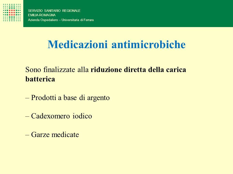 Medicazioni antimicrobiche