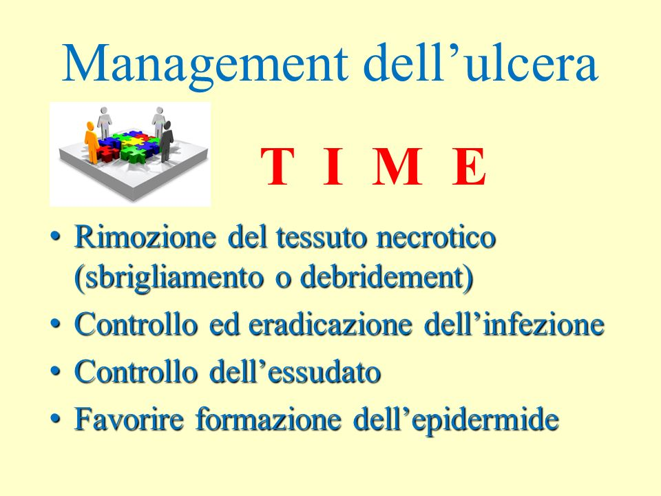 Management dell'ulcera