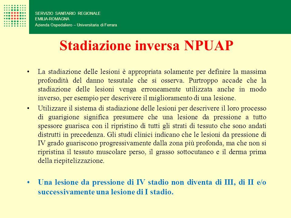 Stadiazione inversa NPUAP