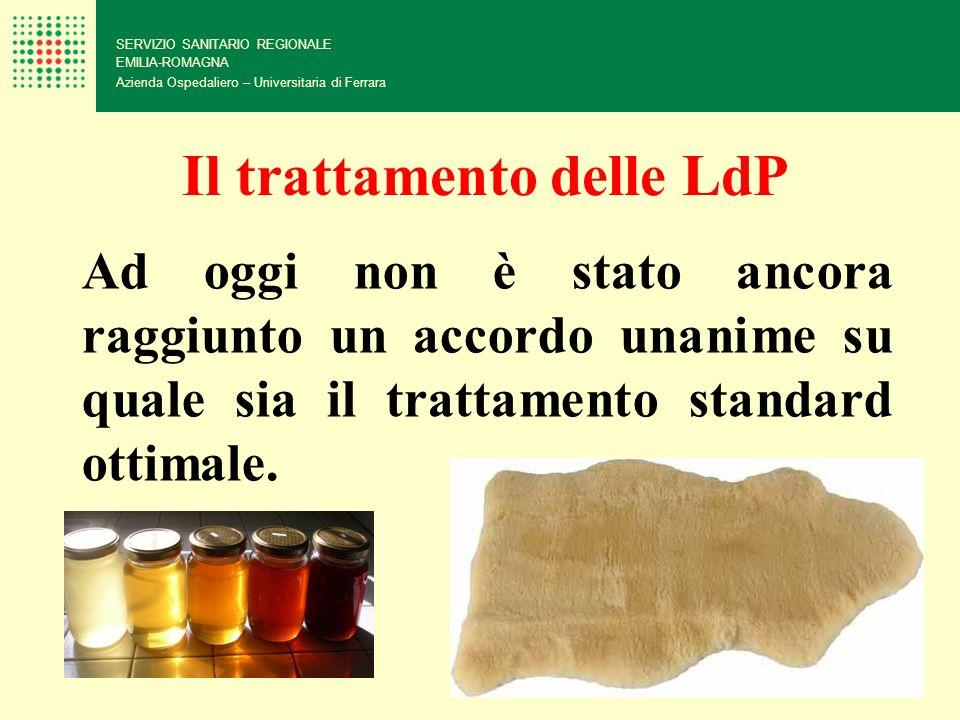 Il trattamento delle LdP
