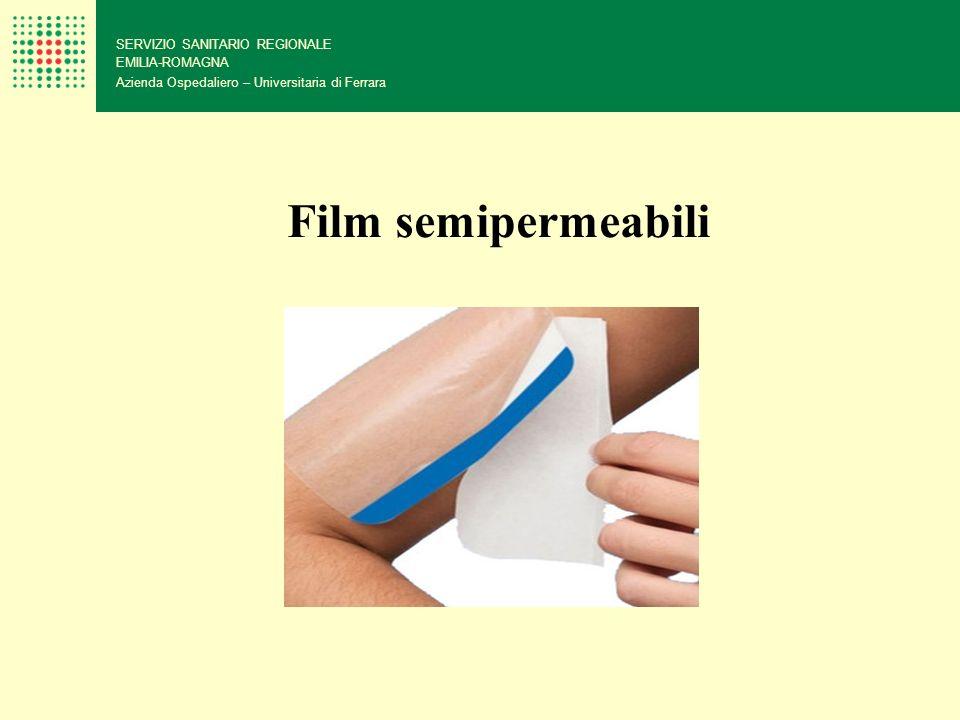Film semipermeabili 79 SERVIZIO SANITARIO REGIONALE EMILIA-ROMAGNA