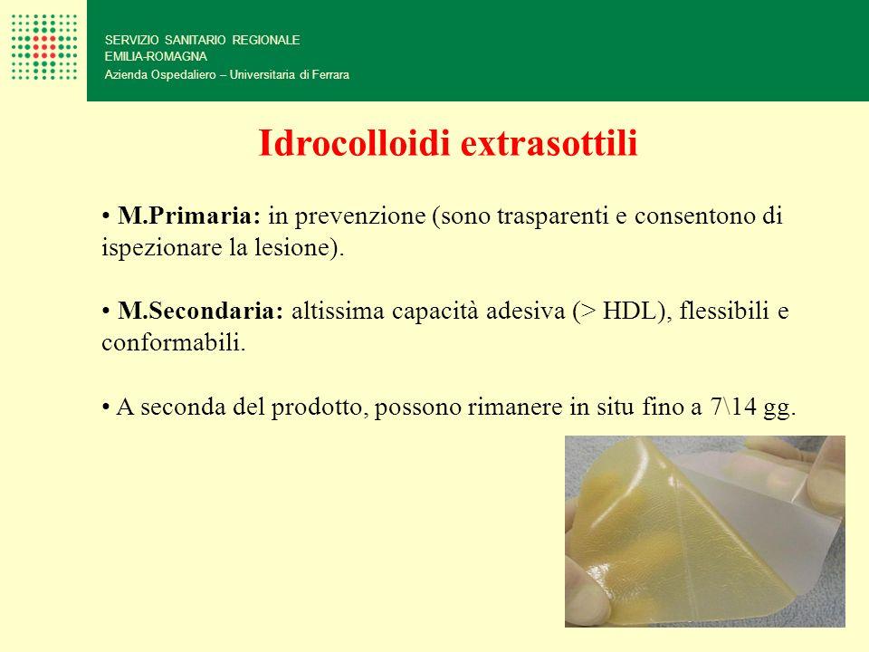 Idrocolloidi extrasottili
