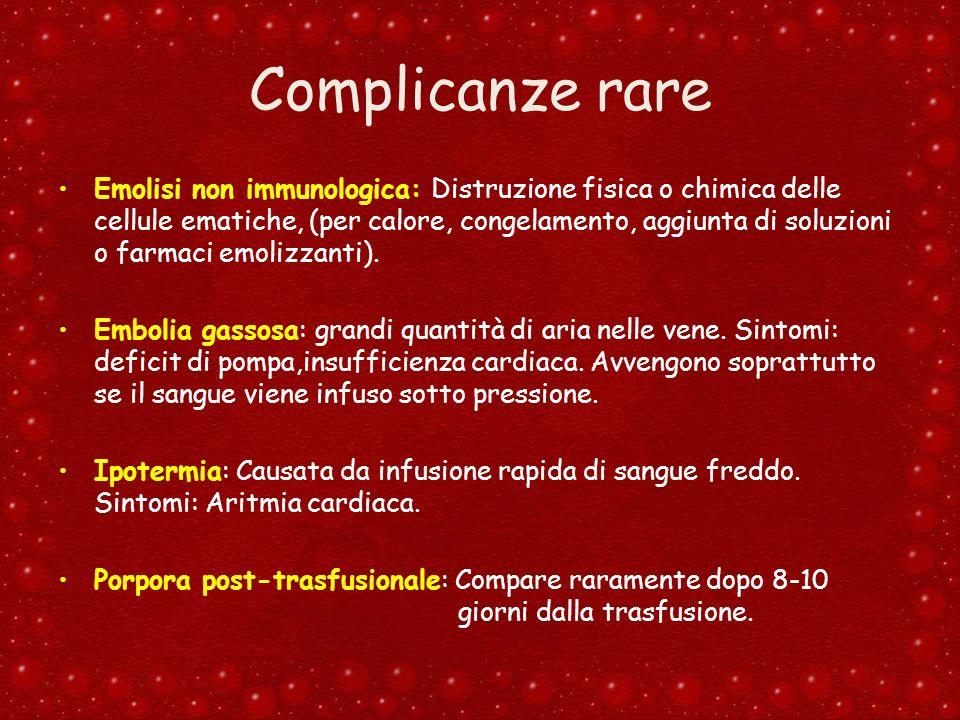 Complicanze rare