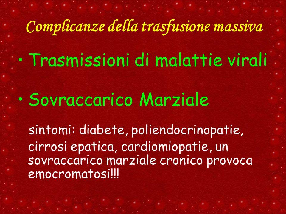 Complicanze della trasfusione massiva