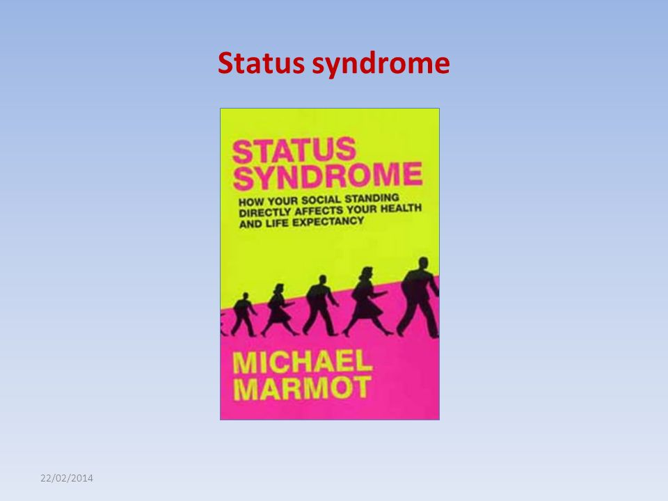 Status syndrome 27/03/2017
