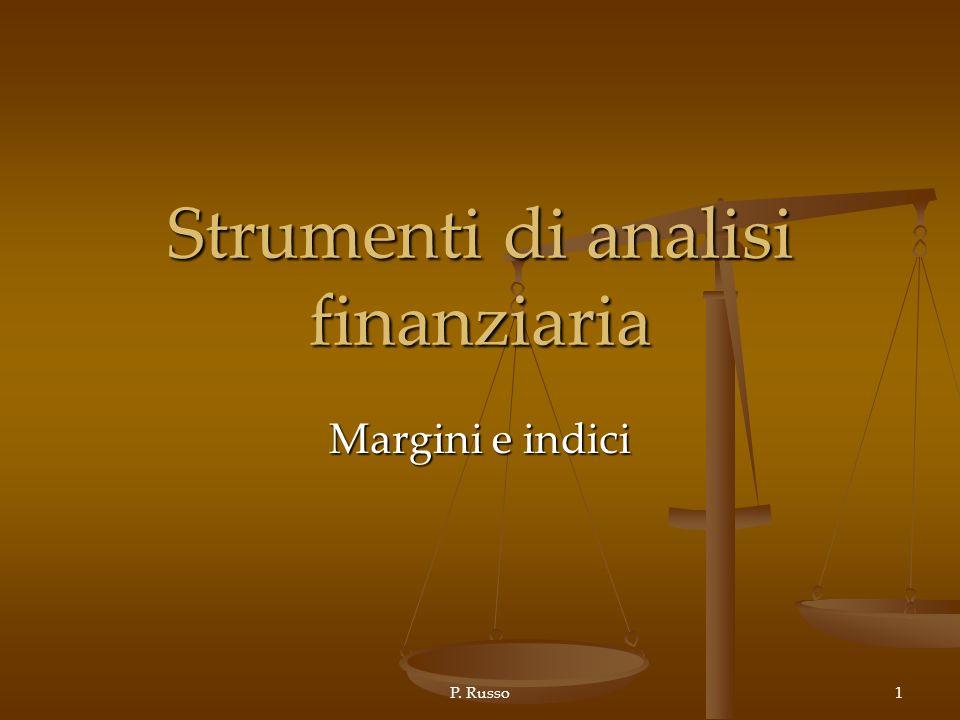 Strumenti di analisi finanziaria