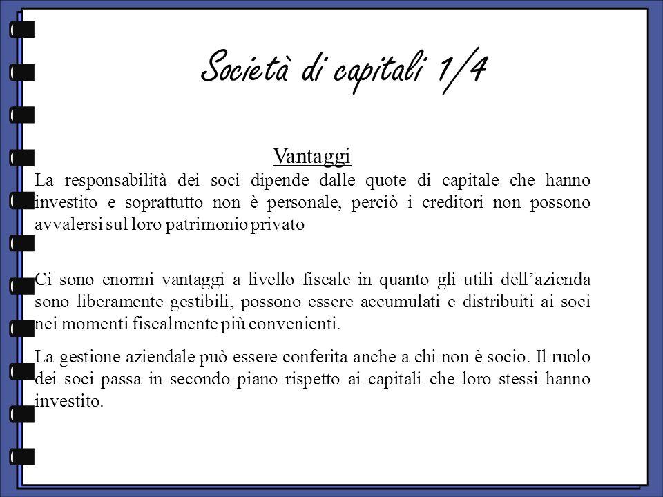 Società di capitali 1/4