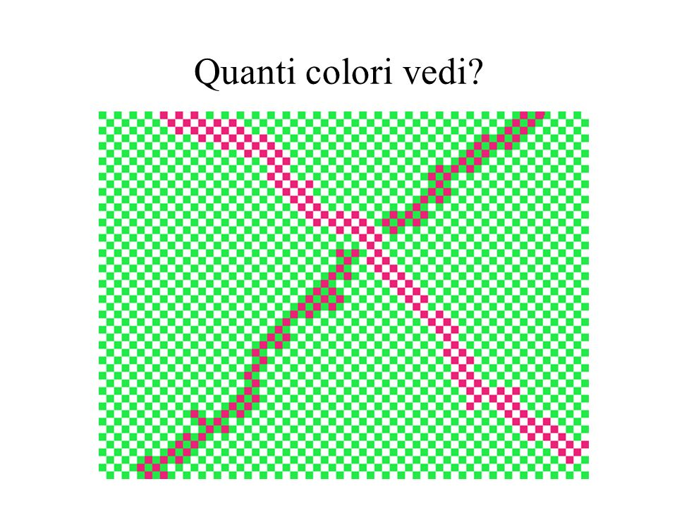 Quanti colori vedi
