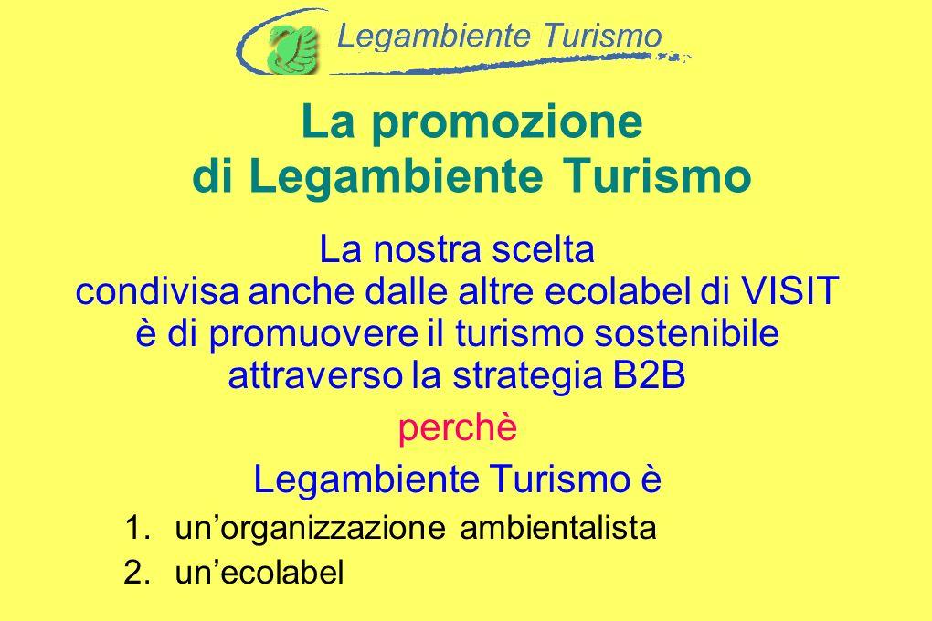 La promozione di Legambiente Turismo