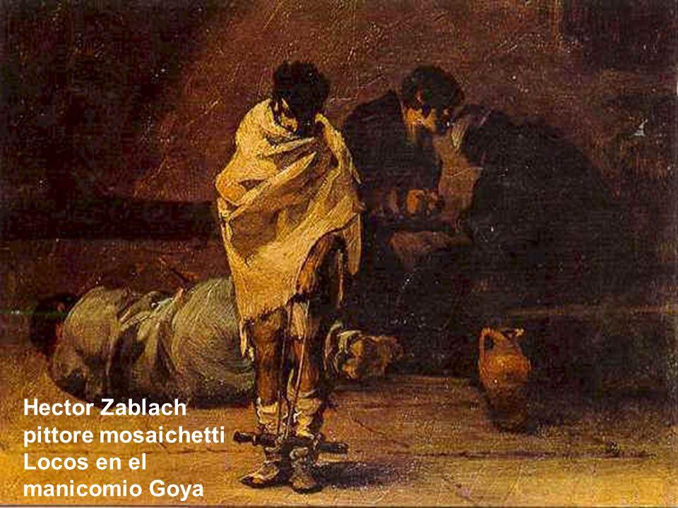 Hector Zablach pittore mosaichetti