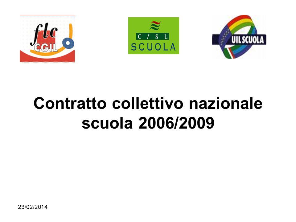 Contratto collettivo nazionale scuola 2006/2009