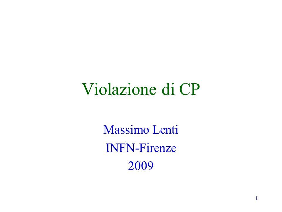 Massimo Lenti INFN-Firenze 2009