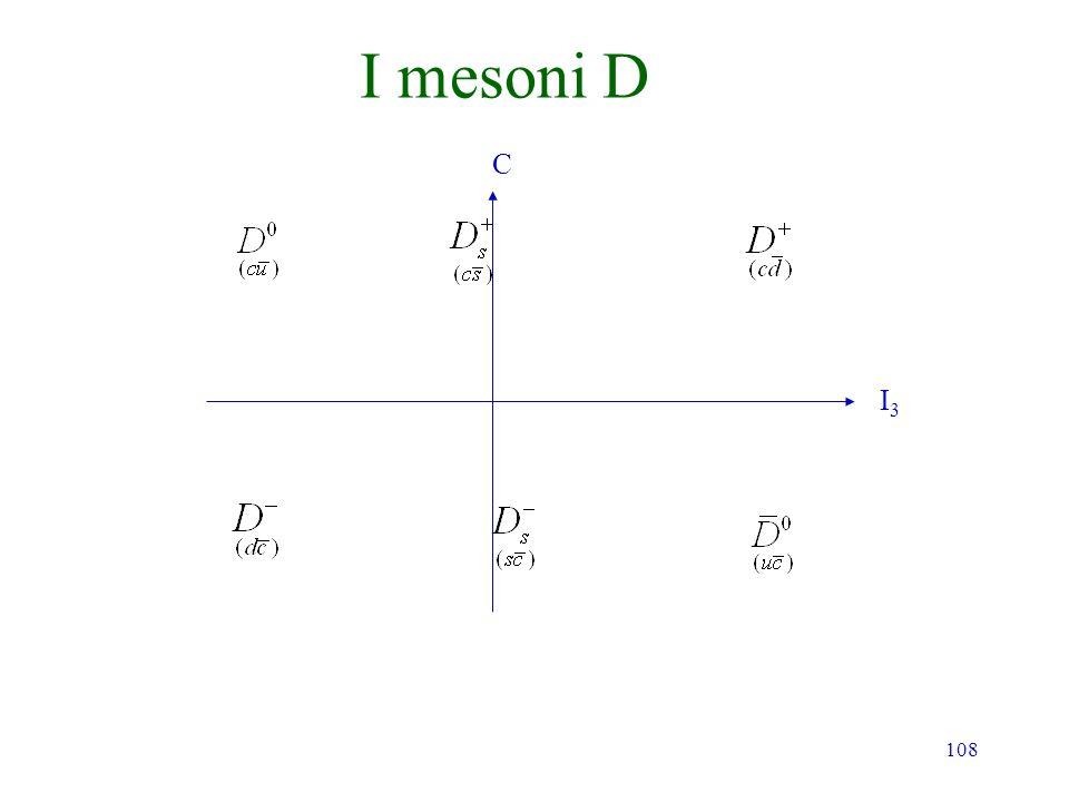 I mesoni D C I3