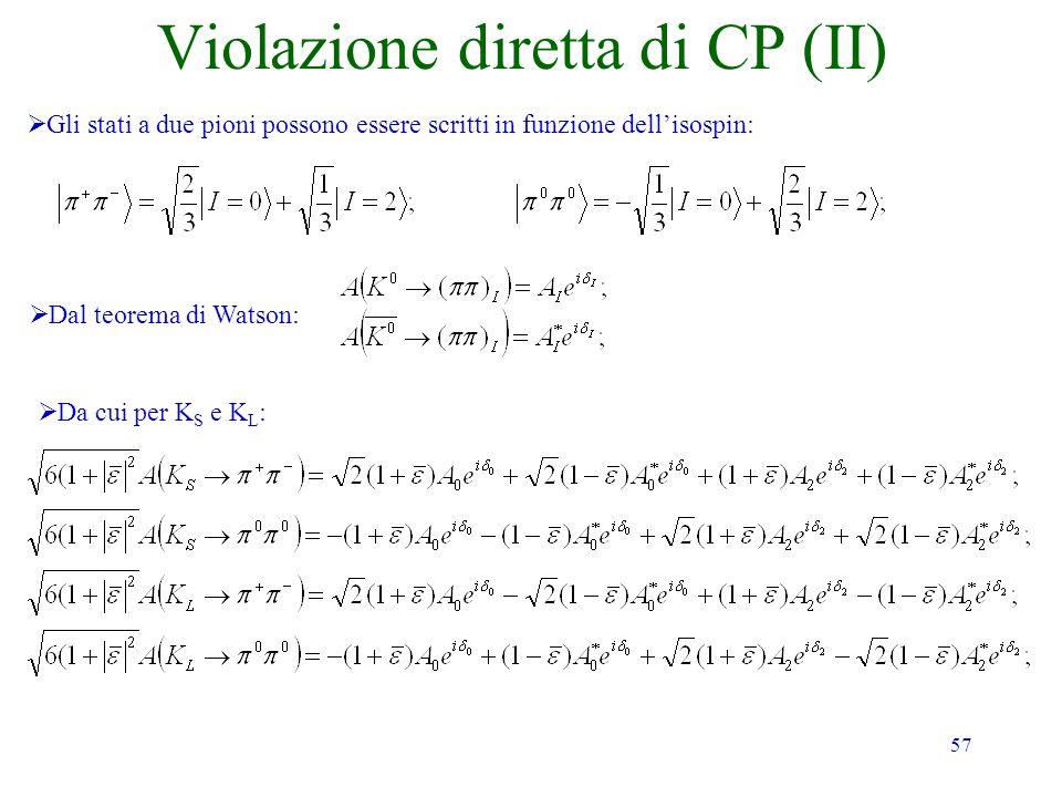 Violazione diretta di CP (II)