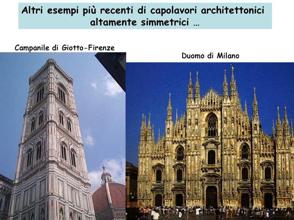 Altri esempi più recenti di capolavori architettonici