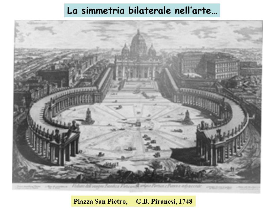 La simmetria bilaterale nell'arte…