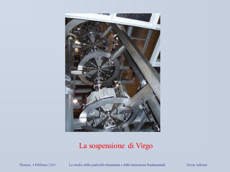 La sospensione di Virgo