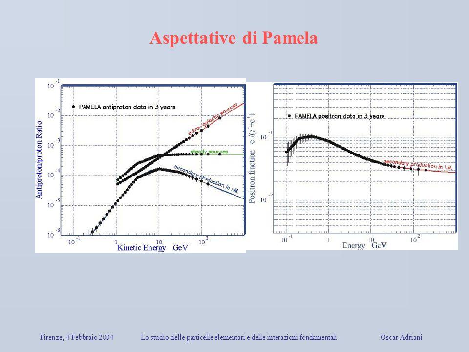 Aspettative di Pamela Firenze, 4 Febbraio 2004
