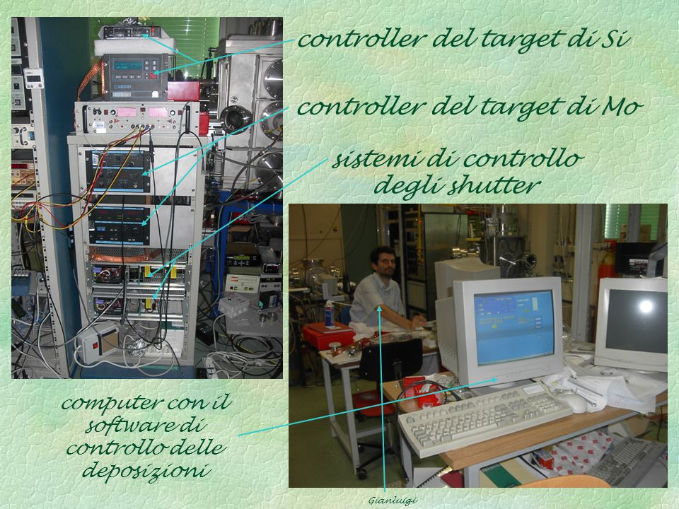sistemi di controllo degli shutter