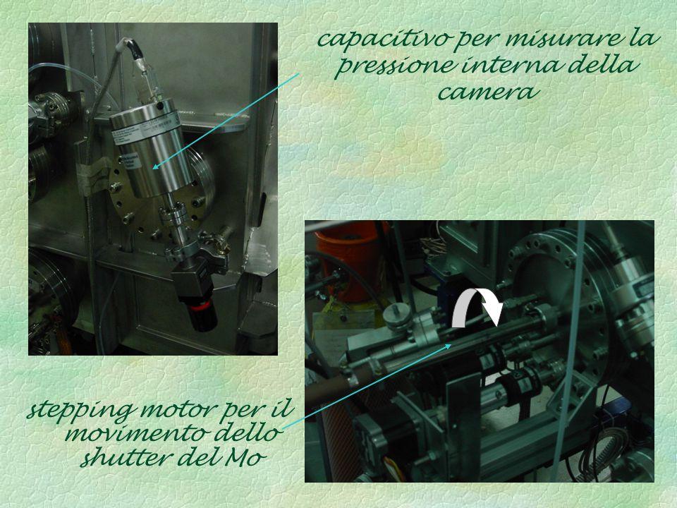 capacitivo per misurare la pressione interna della camera