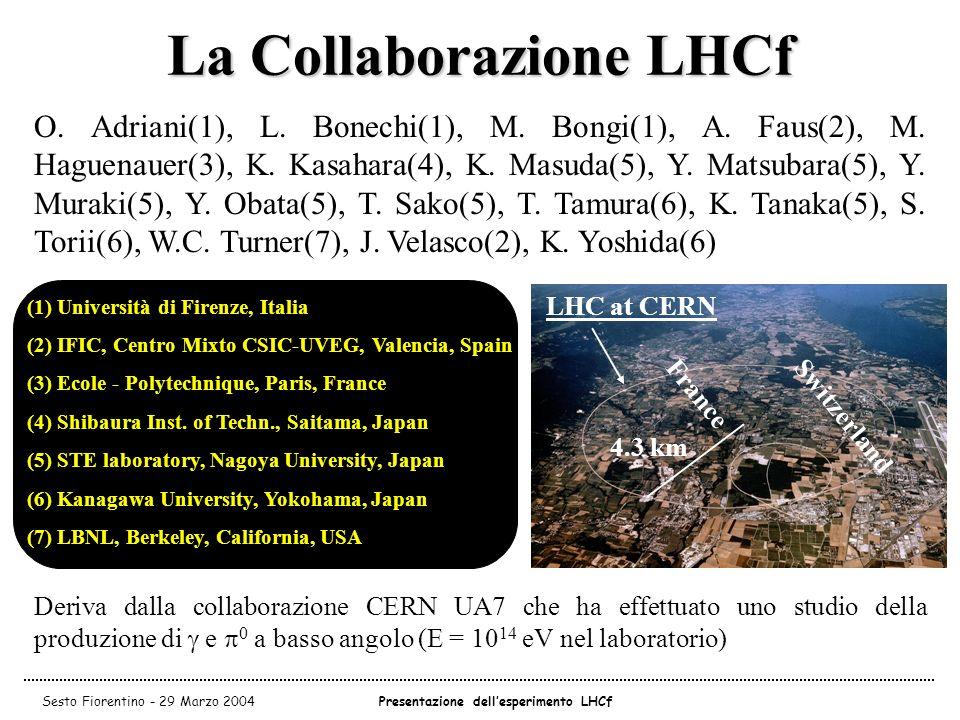 La Collaborazione LHCf