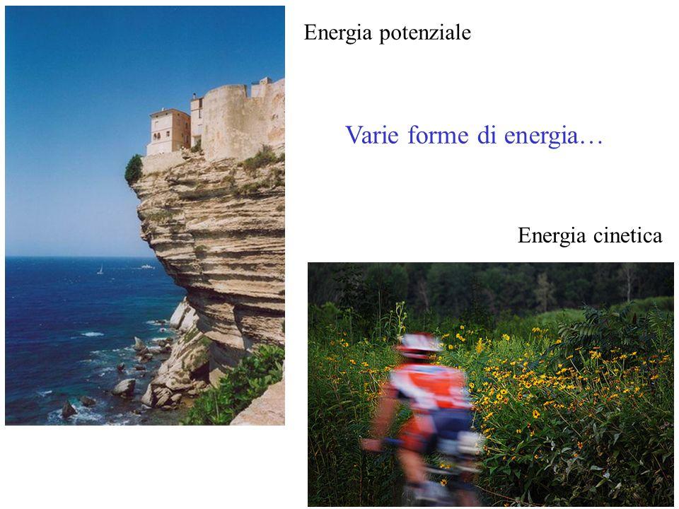 Varie forme di energia…