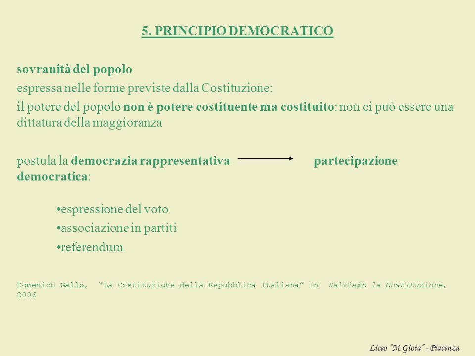 5. PRINCIPIO DEMOCRATICO