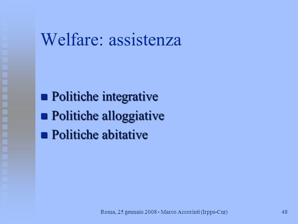 IRPPS - CNR Sezione Welfare