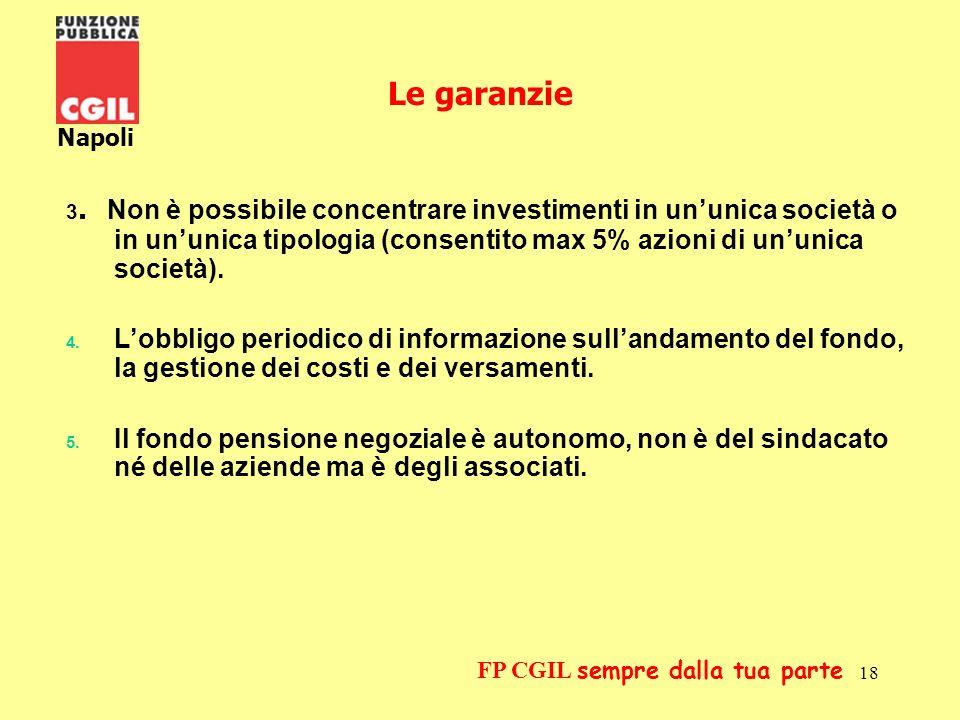 Le garanzie Napoli.